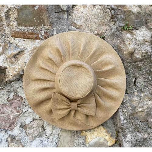 Γυναικείο ψάθινο καπέλο μπεζ 57